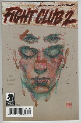 Fight Club 2 #1 2015 SDCC ashcan preview mini comic book Tyler Durden