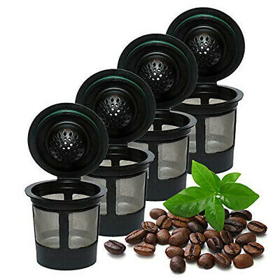 6/12PCS Filter For Keurig 2.0/1.0 Refillable Reusable For K-cups Coffee Filters