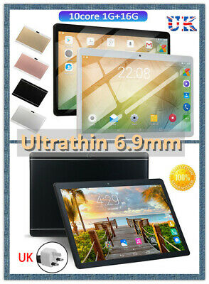 """10.1"""" Inch Tablet PC Android 8.1 Ten Core Wifi 1GB+16GB Bluetooth4.0 Phone Call"""