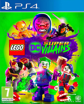 LEGO DC Super-Villains (PS4)  BRAND NEW AND SEALED - IN STOCK - QUICK DISPATCH
