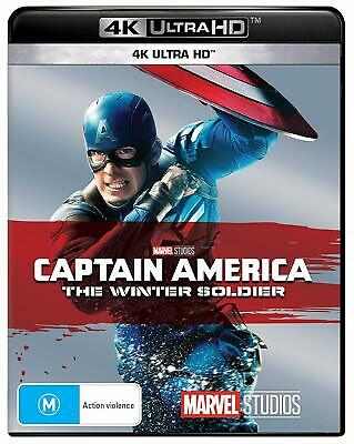 CAPTAIN AMERICA 2 2014: The Winter Soldier MARVEL NEW Au RB 4K Ultra HDR BLU-RAY