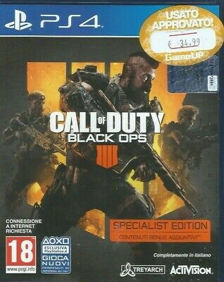 Sony Ps4 Call Of Duty: Black Ops 4