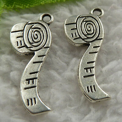 free ship 208 pieces tibet silver tobacco pipe charms 27x12mm #4107