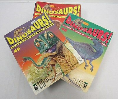 Dinosaurs! Collectible 30+ Magazine Collection 1993 Orbis Play & Learn - FIS L4