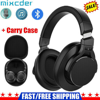 Mixcder E8 Wireless Headphones Bluetooth Headset Noise Cancelling Over Ear + Mic