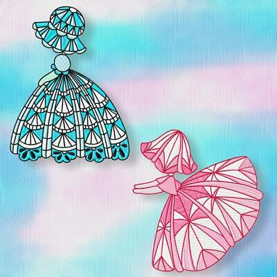 SUNBONNET GIRLS 10 MACHINE EMBROIDERY DESIGNS CD or USB