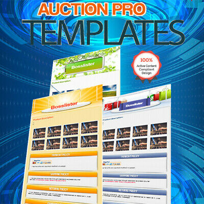 ebay Professional Custom Listing Template ✅ HTML Template ✅ Instant Delivery ✅