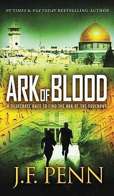 Ark of Blood by J.F. Penn Hardcover Book Free Shipping!