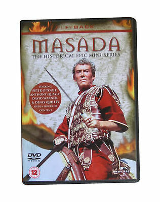 Masada [DVD], DVD, New, FREE & Fast Delivery