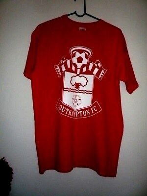 Southampton Football Club t-shirt-Premiership (Medium) Soccer, English Clubs.