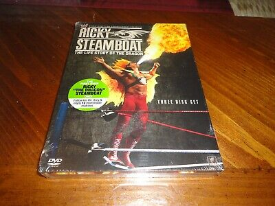WWE Ricky Steamboat The Life Story of the Dragon DVD - 3 Disc Set - WCW NWA