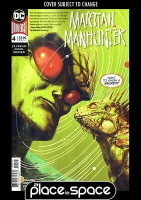 Martian Manhunter, Vol. 5 #4A (Wk13)