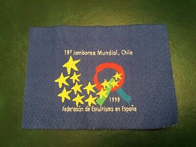 ICOLLECTZONE 1999 Chile World Jamboree Spain Contingent Patch (A700)