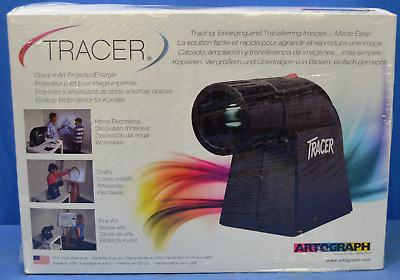 NEW Artograph Tracer Projector Opaque Art Enlarger Artist Mural Signs Black