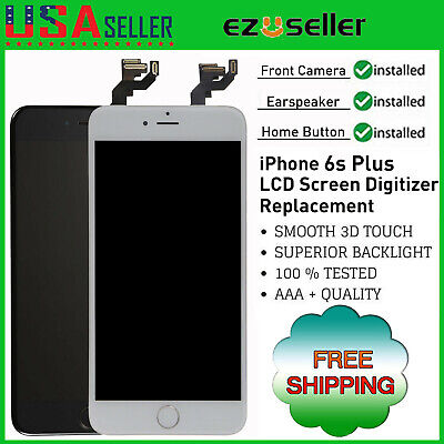 LCD Screen Replacement For iPhone 6S Plus A1687 A1634 Touch Digitizer Assembly