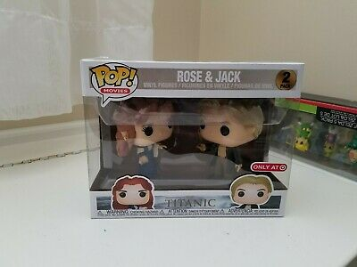 Funko Pop! Vinyl 2-Pack: Rose & and Jack, The Titanic! Target Excl. New In-Hand