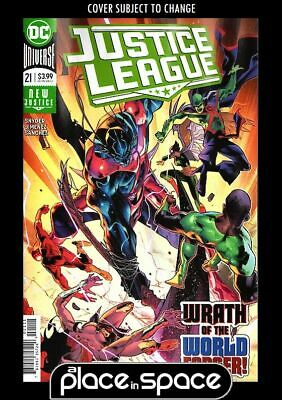 Justice League, Vol. 3 #21A (Wk14)