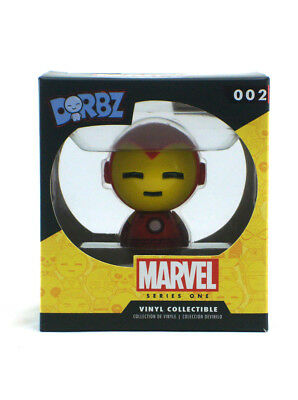 Funko Dorbz Iron Man Vinyl Figure #002 X-Men Series 1 Marvel Comics New In Box