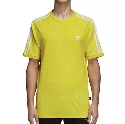 95bf452d15aaa Adidas Originals Pharrell Williams Hu Holi Men s T-Shirt Yellow White cw9102