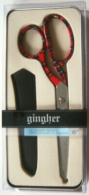 """Gingher MIA Designer Series 8"""" Knife Edge Limited Edition Scissors"""