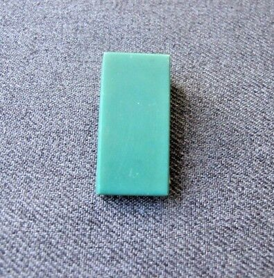 Antique art deco flapper green galalith belt buckle latch for repurpose
