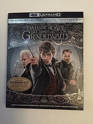 Fantastic Beasts:the Crimes Of Grindelwald 4K Ultra Hd Slipcover Only