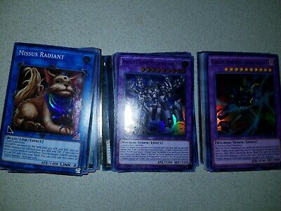 Yugioh! Ancient Gear Deck! Tournament Ready and Holos!