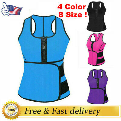 Hot Sweat Sauna Body Shaper Slimming Vest Thermo Neoprene Waist Trainer Women