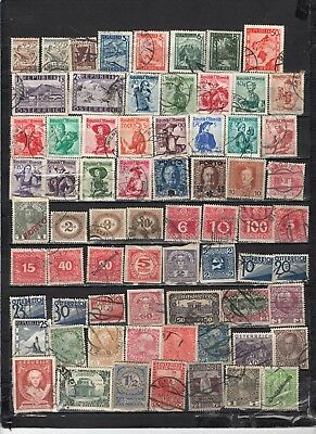 Austria - Lot Of Early Used Stamps(AUS25}