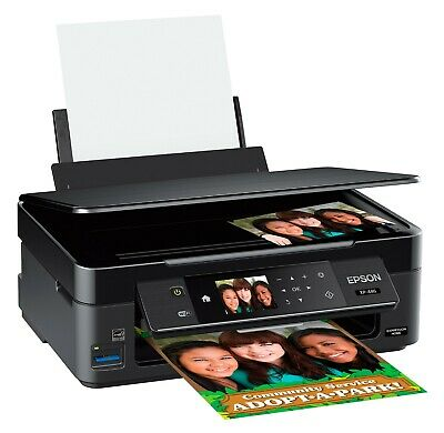 Epson Expression XP-446 Wireless  Photo Printer Scanner and Copier, INK INCLUDED