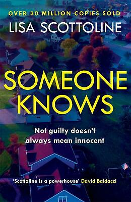 Someone Knows by Lisa Scottoline (English) Paperback Book Free Shipping!
