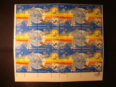 1981 Space Achievement stamp sheet SCOTT #1912-1919