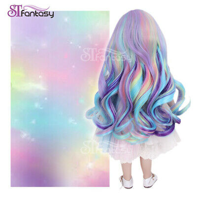 13'' Doll Wig Fits for 18inches American Girl Doll Synthetic Hair