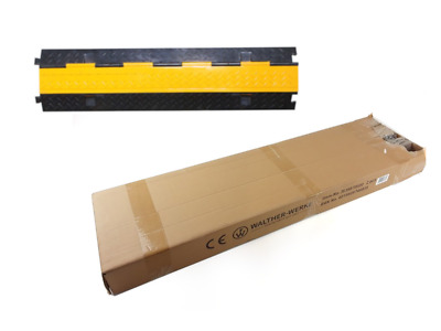 Walther Werke Cable Bridge 2k Straight 39870020 Yellow/Black Rubber 1000x250x48