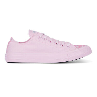 6ea51117a6f7 Converse Baskets Femme Chuck Taylor All Star Bœuf Paillettes Bottes Rose  Foam