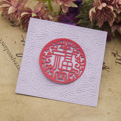 Round Cutting Dies Stencil DIY Scrapbooking Embossing Paper Card Making