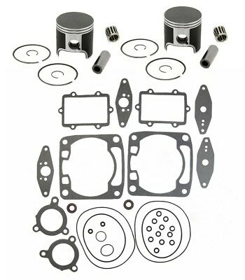 2010 2011 Arctic Cat Crossfire 6 600 SPI Pistons Bearings Top End Gasket Kit Std