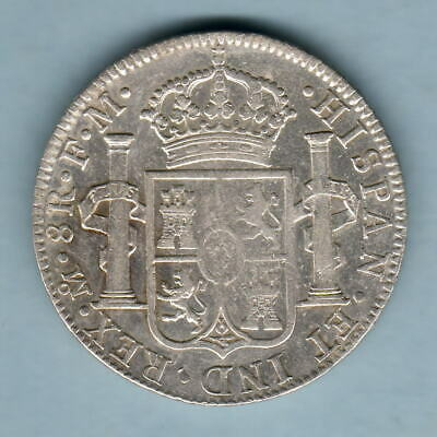Mexico. 1792-MoFM  8 Reales..  gVF - Much Lustre
