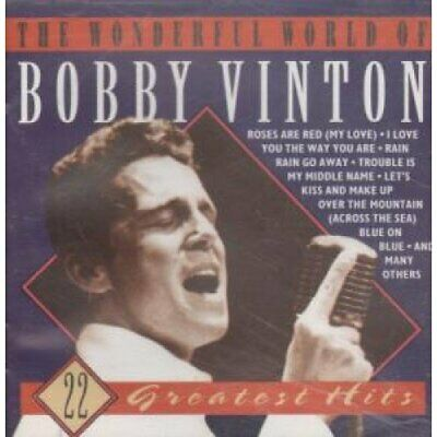 The Wonderful World of Bobby Vinton - 22 Greatest Hits -  CD OWVG The Fast Free