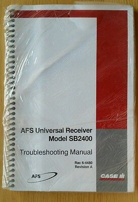 Case/ih Sb2400 Afs Universal Receiver Troubleshooting Manual