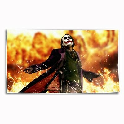 DC Batman Joker Paintings HD Print on Canvas Home Decor Wall Art Picture 14x24