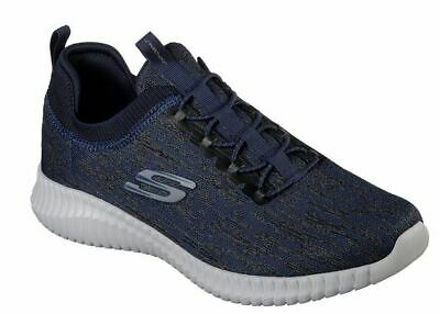 SKECHERS ELITE FLEX Herren Sneaker Fitness Schuhe Slip on