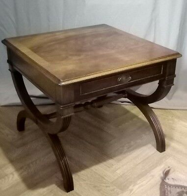 Large Best Quality Vintage Regency Revival Reproduction Side End Coffee Table