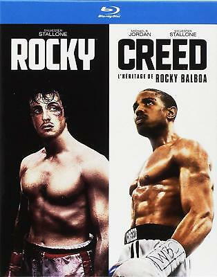 NEUF Rocky + Creed coffret 2 Blu-ray