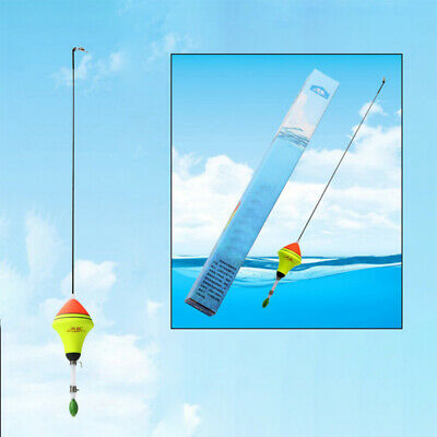 1Pc EVA Automatic Fishing Float Fishing Artifact Stainless Steel Vertical Buoy~