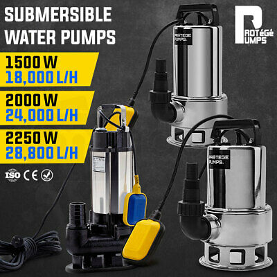 【20%OFF】PROTEGE Submersible Dirty Water Pump 240V Hi Flow Tank Pressure