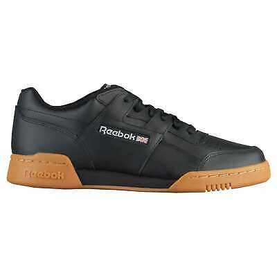 b24778583d9 REEBOK WORKOUT PLUS Men s Shoes Black Carbon Classic Red Reebok ...