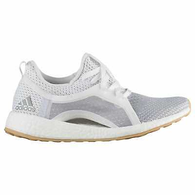 e3dce8074 adidas Pure Boost X 2.0 Clima Women s White Silver Met Grey Two BB6089