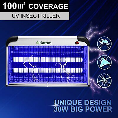 30W Electric Insect Mosquito Pest Fly Killer UV Home Restaurant Bug Fly Zapper