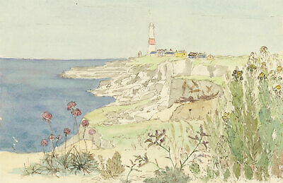 A.M. Johnson - A Pair of Mid 20th Century Watercolours, Coastal Seascapes